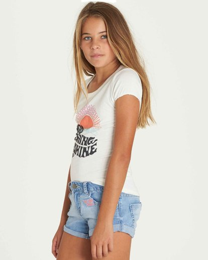 1 Girls' Hey There Tee  G902PBHE Billabong