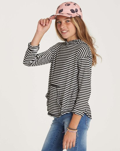 1 Girl's These Days Top Black G903NBTH Billabong