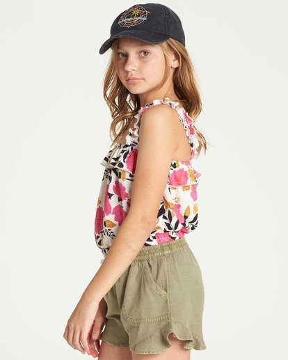 1 Girls' Love Lily Tank Black G905TBLO Billabong