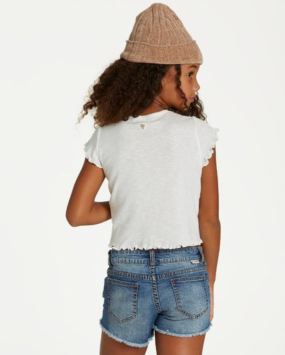 2 Girls' Secret Coast Top Beige G906VBSE Billabong