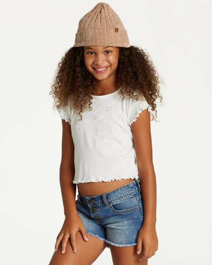 1 Girls' Secret Coast Top Beige G906VBSE Billabong