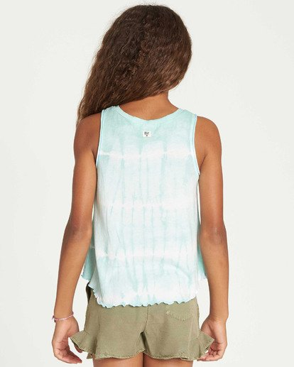 2 Girls' Short N Sweet Tank Top  G907TBSH Billabong
