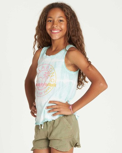 1 Girls' Short N Sweet Tank Top  G907TBSH Billabong