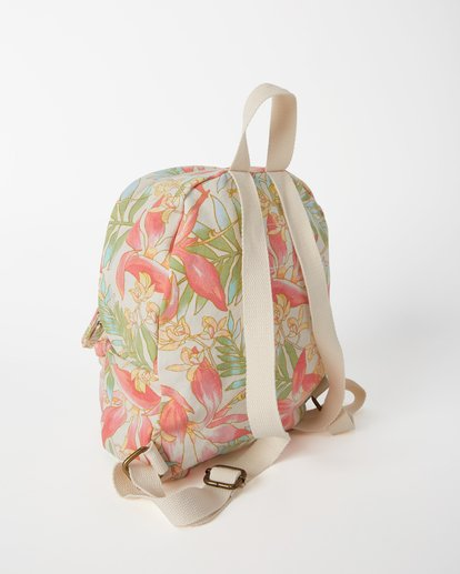 3 Girls' Mini Mama Jr Canvas Backpack Orange GABGWBMI Billabong