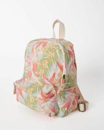 1 Girls' Mini Mama Jr Canvas Backpack Orange GABGWBMI Billabong