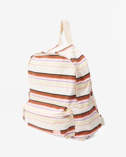 1 Girls' Mini Mama Jr Canvas Backpack White GABGWBMI Billabong