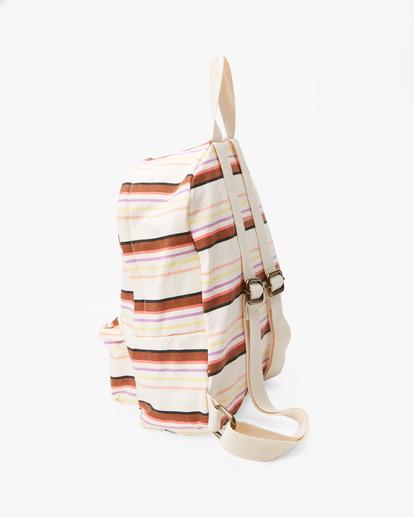 2 Girls' Mini Mama Jr Canvas Backpack White GABGWBMI Billabong