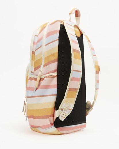 2 Girls' Roadie Jr Backpack Yellow GABK3BRO Billabong