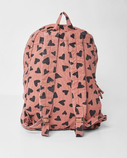 3 Girls' Hand Over Love Jr Backpack Brown GABKVBHA Billabong