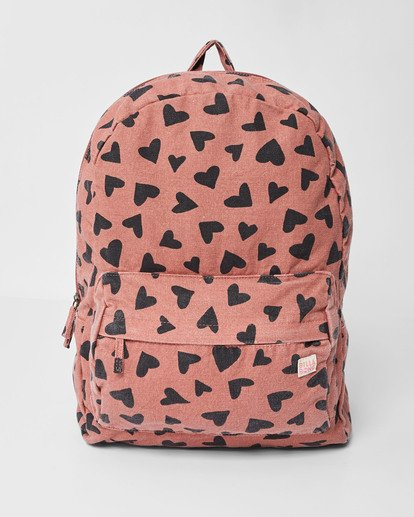 0 Girls' Hand Over Love Jr Backpack Brown GABKVBHA Billabong