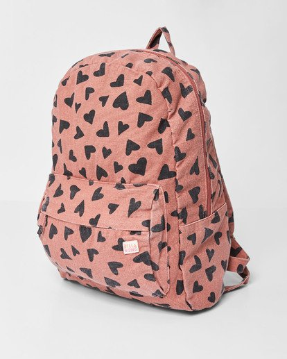 1 Girls' Hand Over Love Jr Backpack Brown GABKVBHA Billabong