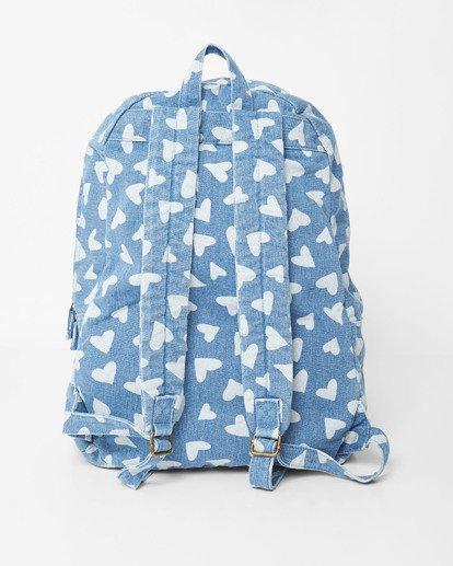 3 Girls' Hand Over Love Jr Backpack Blue GABKVBHA Billabong