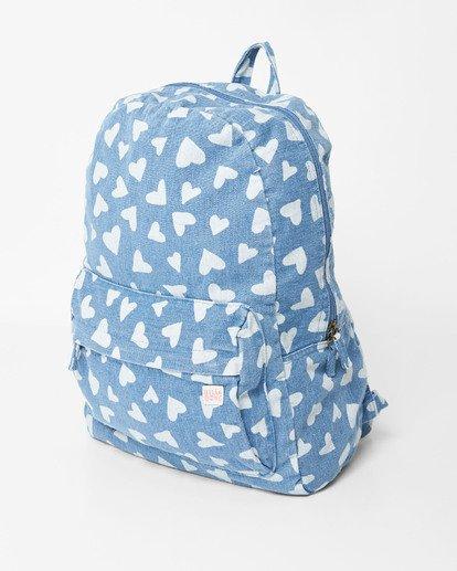 1 Girls' Hand Over Love Jr Backpack Blue GABKVBHA Billabong