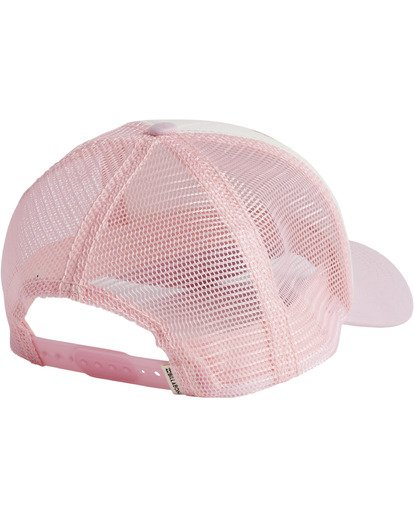 1 Girls' Pitstop Trucker Hat Multicolor GAHTHPIT Billabong