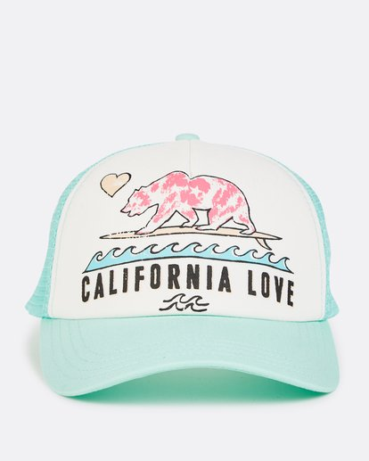 1 Girls' Pitstop Trucker Hat  GAHTHPIT Billabong