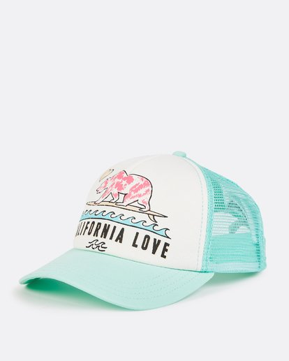 0 Girls' Pitstop Trucker Hat  GAHTHPIT Billabong