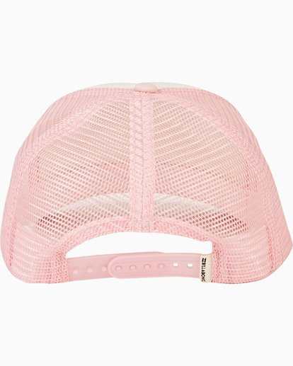 3 Girls' Pitstop Trucker Hat Pink GAHTHPIT Billabong