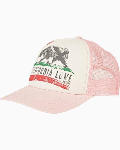 0 Girls' Pitstop Trucker Hat Brown GAHTHPIT Billabong