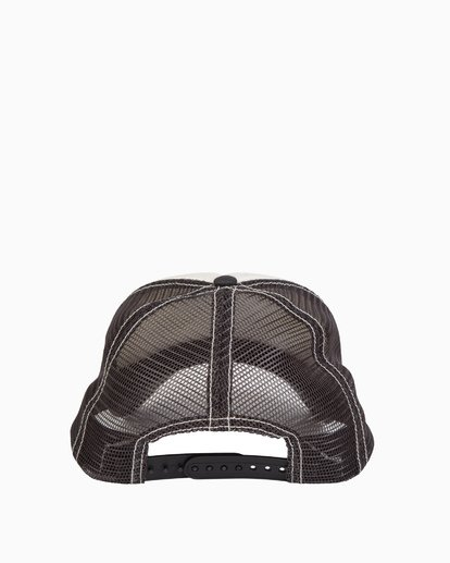 3 Girls' Pitstop Trucker Hat Grey GAHTHPIT Billabong