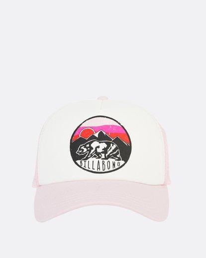 2 Girls' Pitstop Trucker Hat Purple GAHTHPIT Billabong