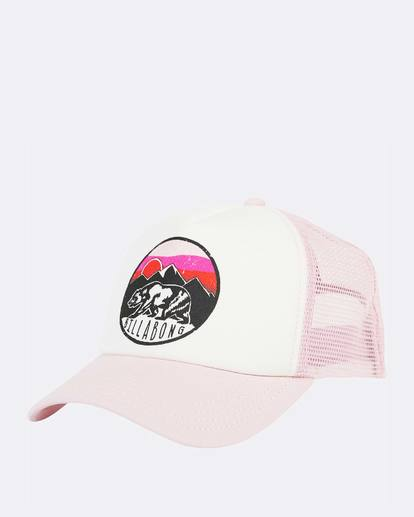 1 Girls' Pitstop Trucker Hat Purple GAHTHPIT Billabong