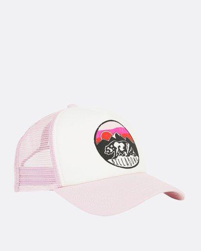 3 Girls' Pitstop Trucker Hat Purple GAHTHPIT Billabong