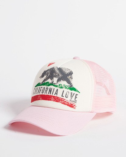 2 Girls' Pitstop Trucker Hat Multicolor GAHTHPIT Billabong