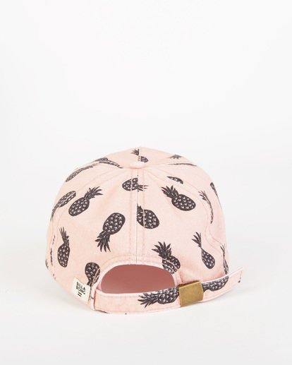 3 Girls' Beach Club Cap Pink GAHW1BBE Billabong