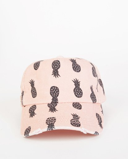 1 Girls' Beach Club Cap Pink GAHW1BBE Billabong