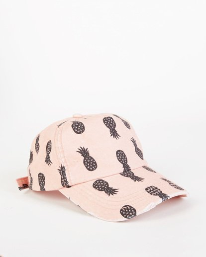 2 Girls' Beach Club Cap Pink GAHW1BBE Billabong