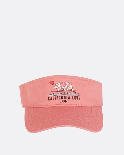 1 Girls' Peace Out Visor Pink GAHWNBPE Billabong