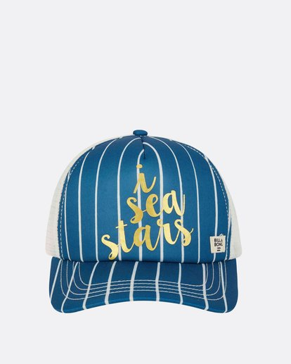 1 Girls' Shenanigans Hat Blue GAHWPBSH Billabong