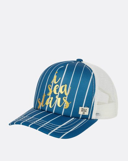 0 Girls' Shenanigans Hat Blue GAHWPBSH Billabong