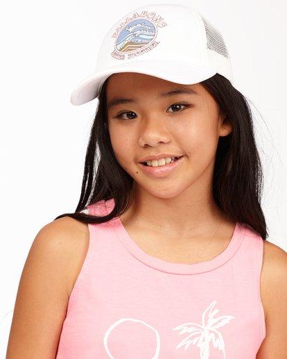 0 Girls' Ohana Trucker Hat White GAHWQBOH Billabong