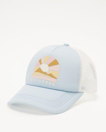 1 Girls' Ohana Trucker Hat Blue GAHWQBOH Billabong