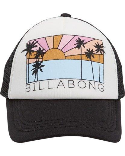 1 Girls' Ohana Trucker Hat Black GAHWQBOH Billabong