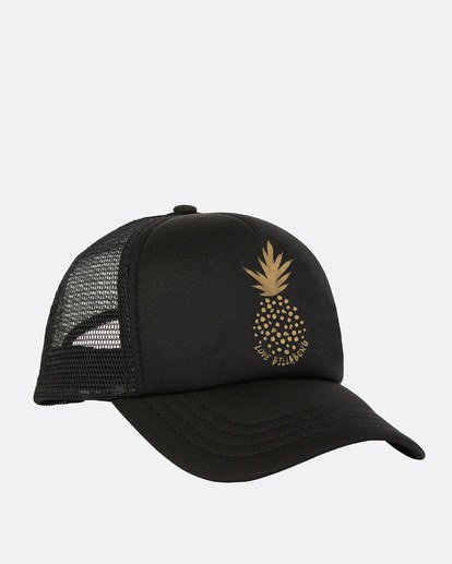 1 Ohana Trucker Hat Black GAHWQBOH Billabong