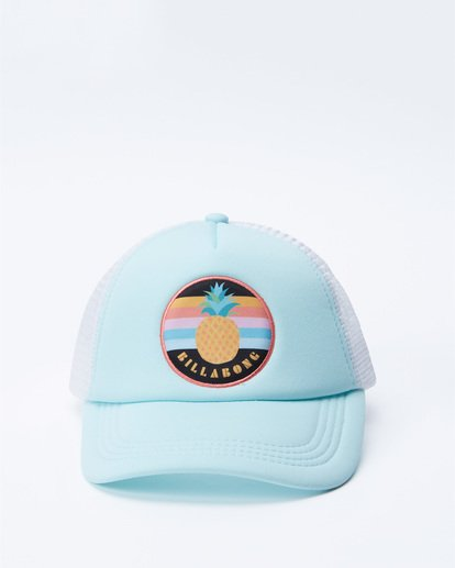 1 Girls' Ohana Trucker Hat Green GAHWQBOH Billabong