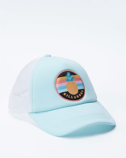 2 Girls' Ohana Trucker Hat Green GAHWQBOH Billabong