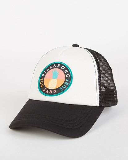 0 Girls' Ohana Trucker Hat Orange GAHWQBOH Billabong