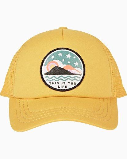1 Girls' Ohana Trucker Hat Grey GAHWQBOH Billabong