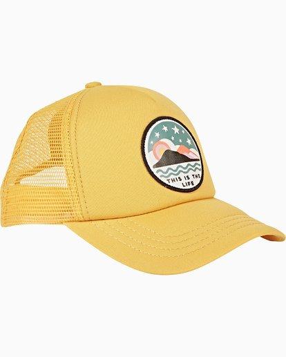 2 Girls' Ohana Trucker Hat Grey GAHWQBOH Billabong