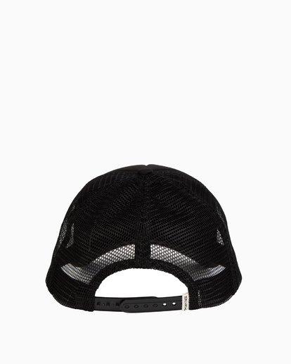 3 Girls' Ohana Trucker Hat Black GAHWQBOH Billabong