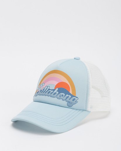2 Girls' Ohana Trucker Hat Blue GAHWQBOH Billabong