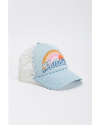 4 Girls' Ohana Trucker Hat Blue GAHWQBOH Billabong