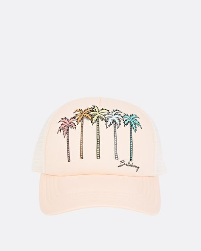1 Girls' Ohana Trucker Hat Orange GAHWQBOH Billabong