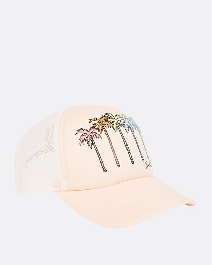 2 Girls' Ohana Trucker Hat Orange GAHWQBOH Billabong