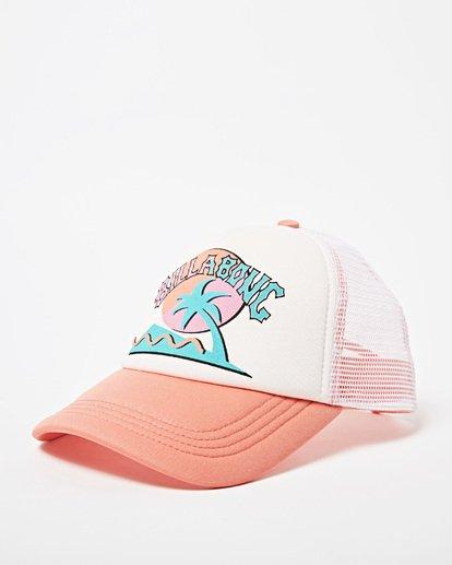 0 Girls' Ohana Trucker Hat Green GAHWQBOH Billabong