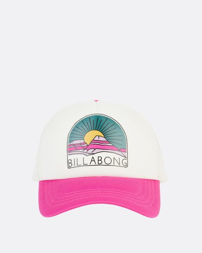 1 Girls' Ohana Trucker Hat Pink GAHWQBOH Billabong