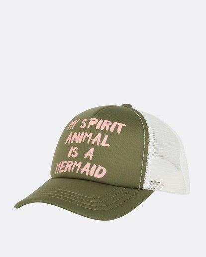 0 Ohana Trucker Hat Green GAHWQBOH Billabong